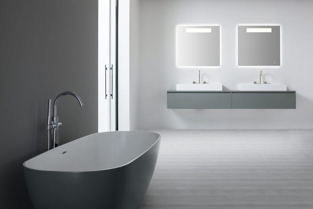 So stilvoll kann ein modernes Bad aussehen - Impressionen ...